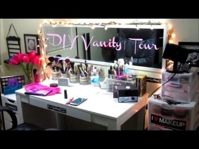 ❤︎DIY Vanity Desk I Did and Tour| (2015)❤︎