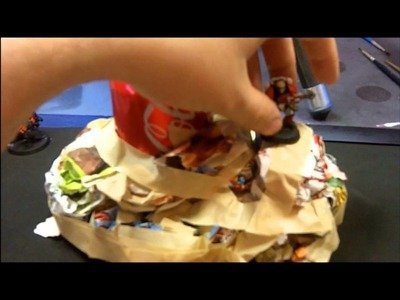 Paper Mache Terrain