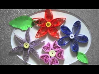 Paper quilling designs