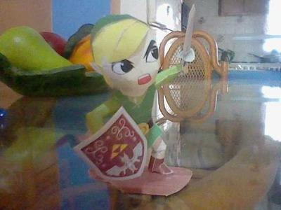 Papercraft de Toon Link (Wind Waker)