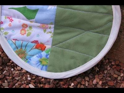 Patchwork Potholder DIY- Whitney Sews