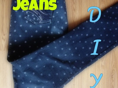 Renueva tus jeans-pantalon-DIY How to