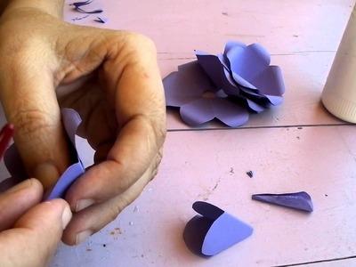 Rosa de papel. Paper rose