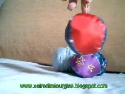 Xristougenniatika ifasmatina stolidia-Cristmas fabric ornaments