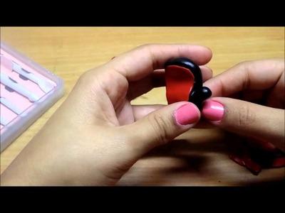 Boxing Glove Tutorial w. Polymer Clay.  Guante de Box con Acrilica Polimerica