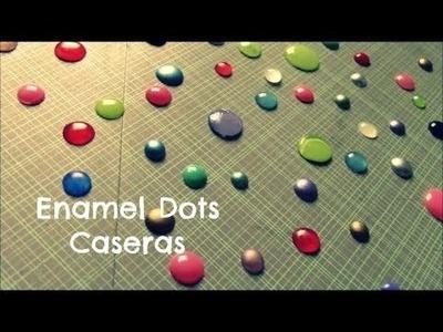 Como hacer enamel dots caseras - Viene de Scrap Tips (5) Publicado 24.07.14