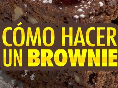Cómo hacer un Brownie