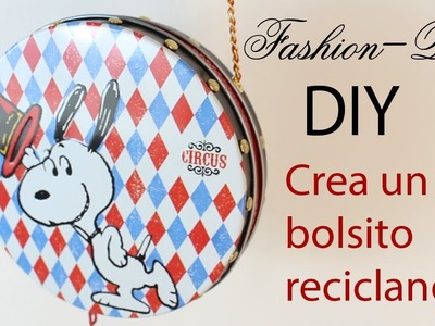 DIY- Crea un bolso con latas de galletas!  | Fashion Riot