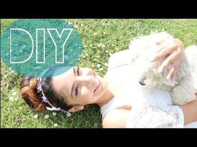 DIY - DIADEMA DE FLORES!