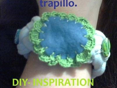 DIY: PULSERA EN TRAPILLO