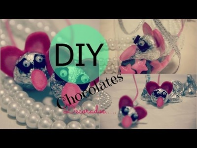 DIY RATONCITOS DE CHOCOLATE san Valentin