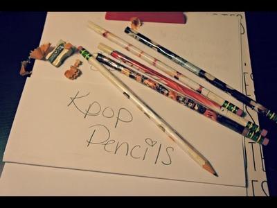 Kpop Pencils DIY