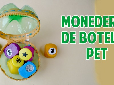 Monedero de botella PET