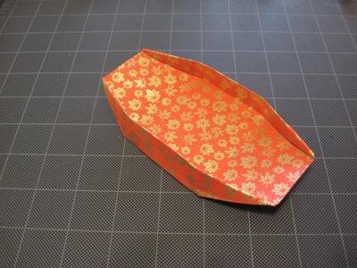 Origami dish. box