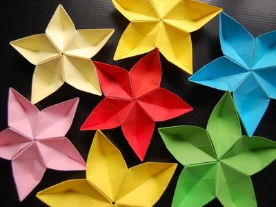 Origami flower sakura
