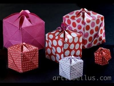 Origami Flowery Box