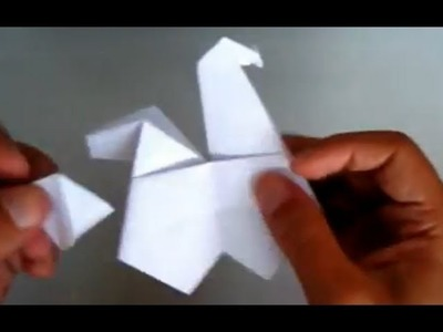 Origami Hen that can Lay Eggs ;-) Origami - Gallina que Pone Huevos
