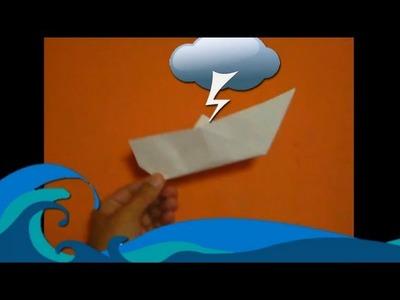 Origami - Historia del Barquito - Boat Story