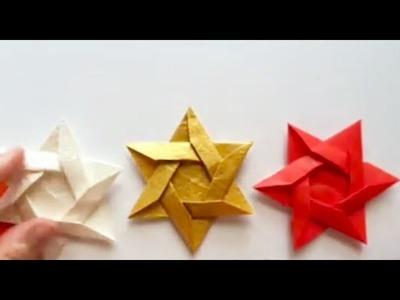 Origami Star of David