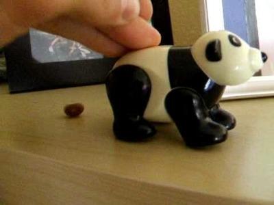 Panda poop candy!