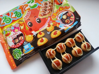 TUTORIAL: Popin' Cookin' KURUKURU TAKOYAKI Kit #4 + ASSAGGIO