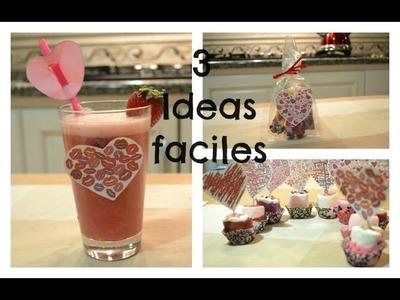 3 Ideas sencillas - *14 de Febrero*