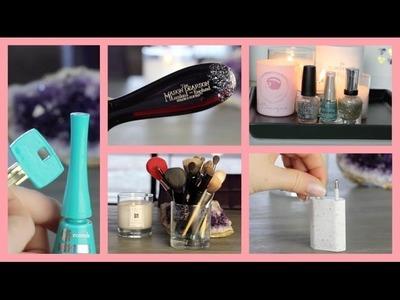 7 ❤ DIY ❤ trucjes met glitter nagellak
