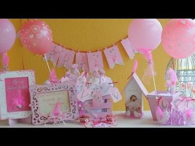 Baby Shower Nenas - Ideas Faciles para Decorar - Stenciles - Souvenirs -
