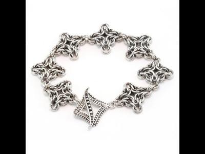 Byzantine Diamond Chainmail Tutorial - Beaducation.com