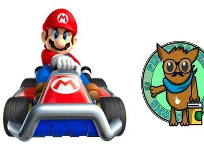 Como hacer un go kart de Mario Kart con limpiapipas