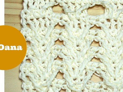 Crochet 3D stitch