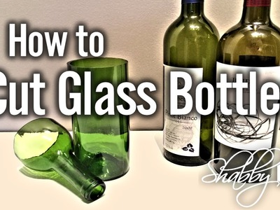 Cut Glass Wine Bottles In Seconds Using AGPtek Cutting Tool