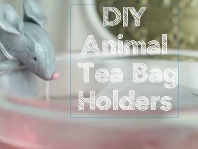 DIY Animal Tea Bag Holders [Nifty]