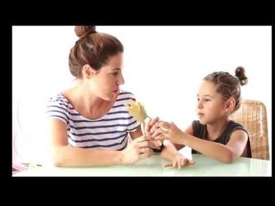 DIY CON NIÑOS (corona-diadema) ♥JIMENA&ME - descalzaporelparque