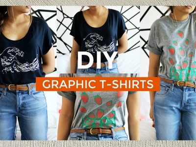 DIY GRAPHIC TEES 2 WAYS | pacifically