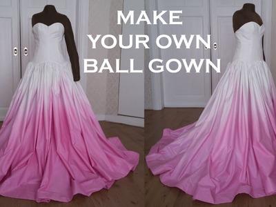 DIY Prom.Wedding Ball Gown Dress