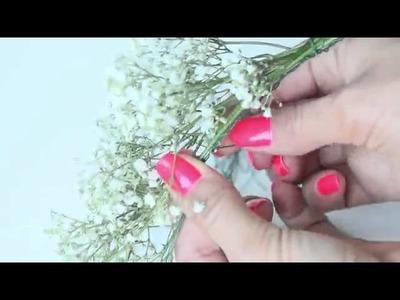 DIY  Romantic Flower Crown