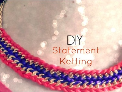 DIY Statement Ketting