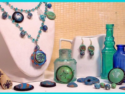 How to Make Beads and Pendents with Polymer Clay. Beginner Tutorial. Fabulous Tips!