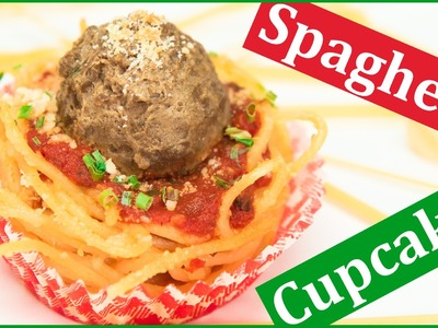 How to Make Spaghetti Cupcakes from Cookies Cupcakes and Cardio