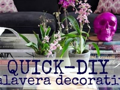 Quick DIY I - Calavera decorativa | Monica Beneyto