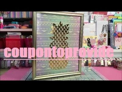 Repurposed Cigar Box DIY | Jewelry Box | Pineapple Theme
