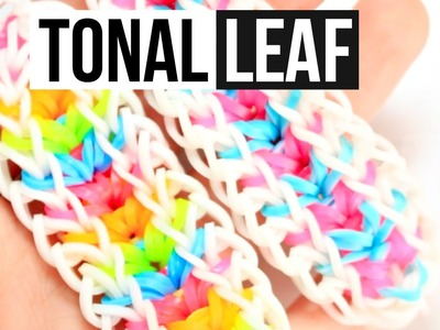 Tonal Leaf Bracelet | Rainbow Loom Tutorial | One Loom