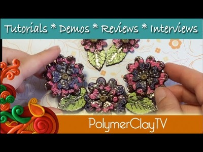 Using Iced Enamels with Polymer Clay