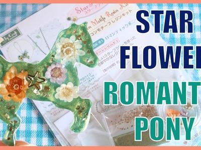 [UV Resin] Star Flower Romantic Pony Kit