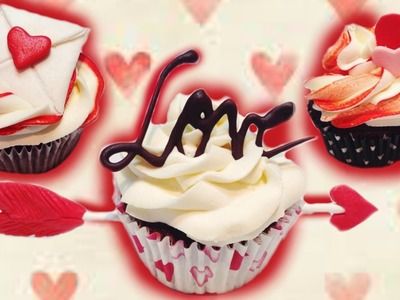 VALENTINE'S DAY CUPCAKES: TUTORIAL | Marcos Soler