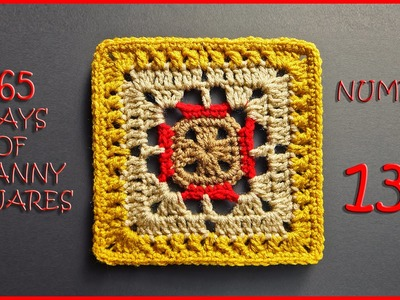 365 Days of Granny Squares Number 131