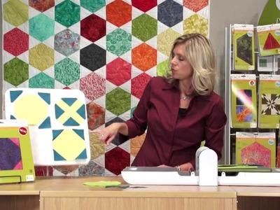 AccuQuilt GO! Fabric Die Cutting: Snowball-6