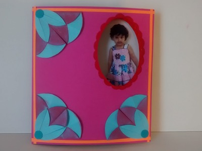 Art and Craft: How to make changing picture card. Peek a Boo card