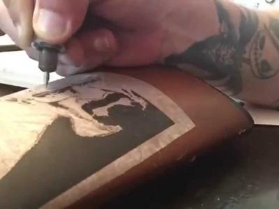 BREAKING Bad Rifle Stock Dremel Wood Carving.